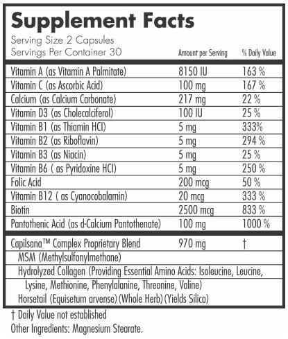 hairfinity ingredients