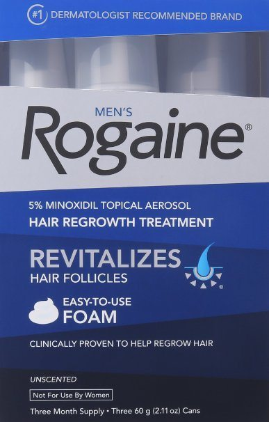 rogaine for men foam reviews