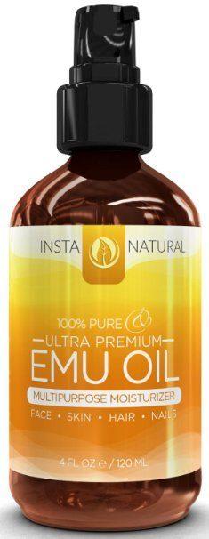 InstaNatural Emu Oil For Hair Reviews
