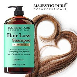 majestic pure hair loss shampoo