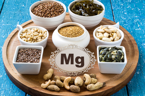 A variety of magnesium-containing ingredients
